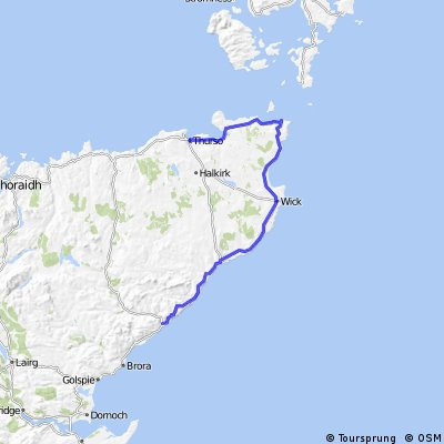 LEJoG Day 14 – Helmsdale to Land's End - Thurso