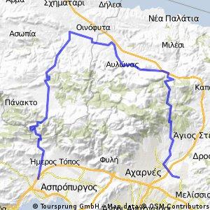 Κηφισιά - Αγ. Μερκούριος - Σκούρτα - Ελευσίνα