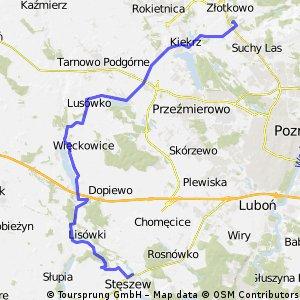 Wielki pierścień rowerowy wokół Poznania - Etap 1