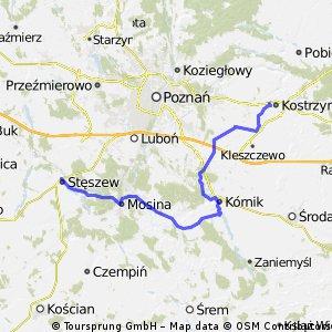 Wielki pierścień rowerowy wokół Poznania - Etap 3