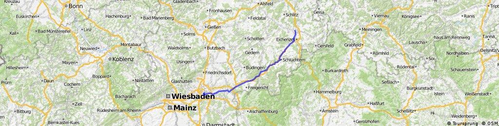 Frankfurt Fulda Bikemap Deine Radrouten