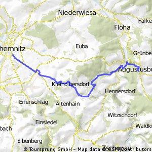 Chemnitz - Augustusburg #1