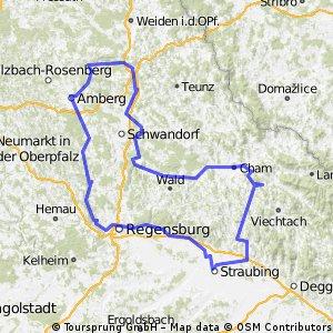Bavorské toulání