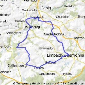 Berg- und Talfahrt rund um Kaufungen CLONED FROM ROUTE 75090
