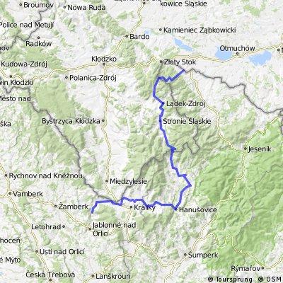 Borůvková hora - Těchonín CLONED FROM ROUTE 258892