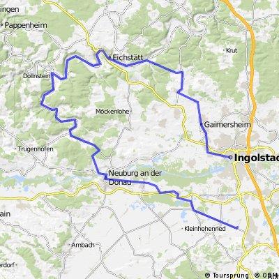 Ingolstadt-Eichstätt-Dollnstein-Neuburg-Karlskron