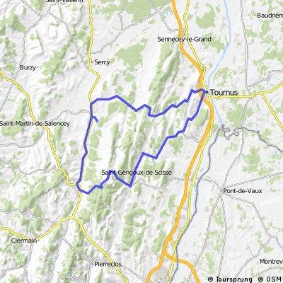 Cormatin - Tournus - Cluny