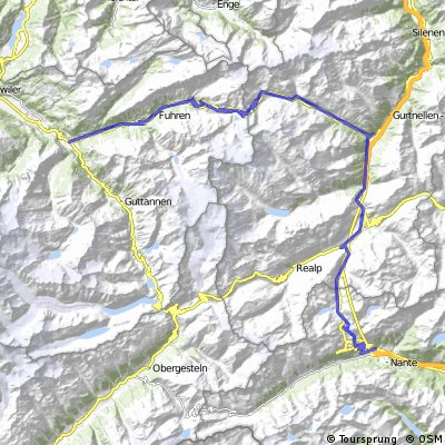 Innertkirchen - Andermatt - Airolo