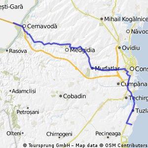 Cernavoda - Costinesti