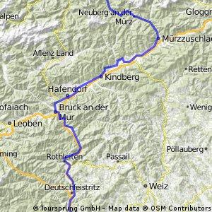 RT11-Mariazell in 1,5 Tagen