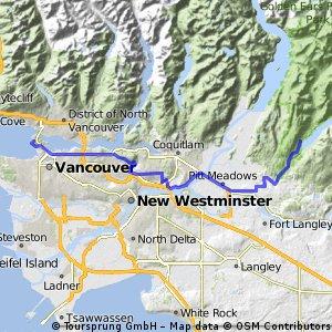 Vancouver YH to Maple Ridge campground