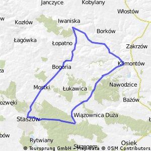 Staszów-Ujazd-Staszów