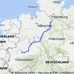 Aller-Weser-Else-Lippe