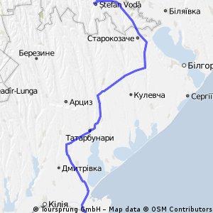 Вилково - Каушаны