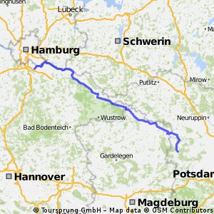 Hamburg Berlin CLONED FROM ROUTE 558666