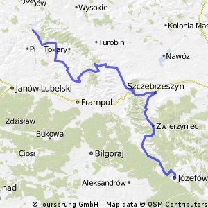 Egzotyczna Polska 2012 - dzień 10 - Józefów - Batorz