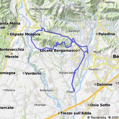 Filago - Villa - Fontanella - Brembate - Filago