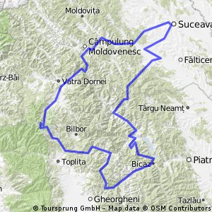 Suceava Ipotesti Lisaura Bikemap Your bike routes