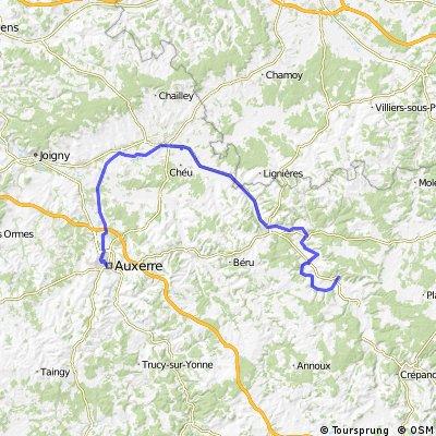Auxerre - Ancy-le-Franc