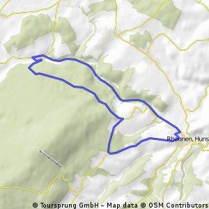 Rhaunen - Weitersbach - Krummenau - Rhaunen