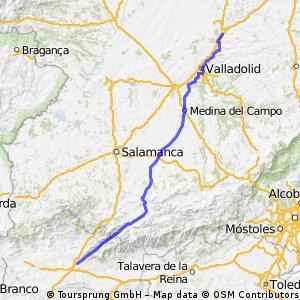Reto Pamplona - Cadiz, Ruta B, Etapa 2 (opcion 1)