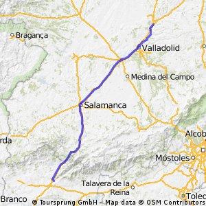 Reto Pamplona - Cádiz, Etapa 2 (opción 2)