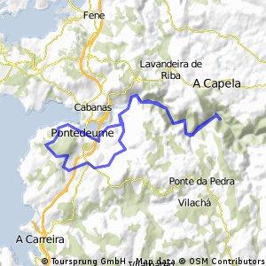 Paseo hasta Monasterio Caaveiro