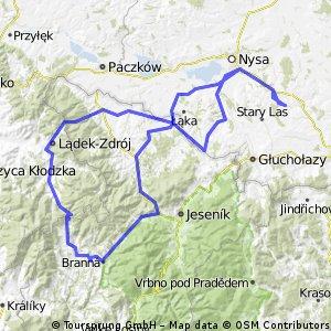 lipowa/borówkowa góra/lądek/brenna