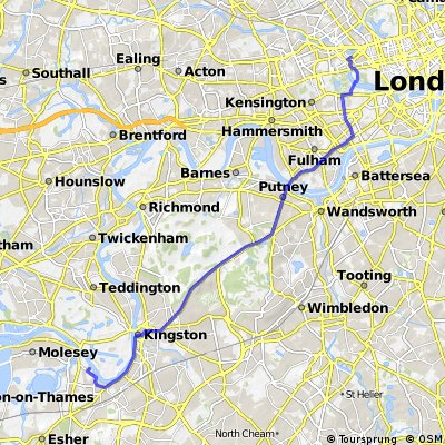 Commute #01 - Thames Ditton to Paddington