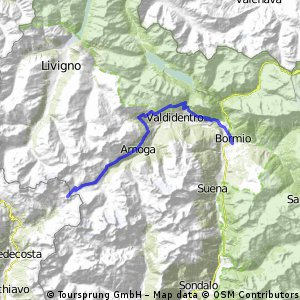 "Bormio - Val Viola ""lago Viola"""