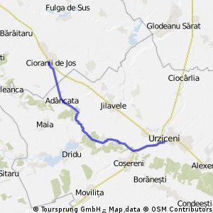 Cioranii de Jos - Adancata - Urziceni