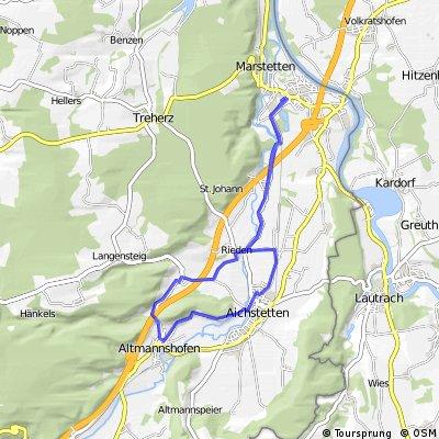 Aitrach - Altmannshofen - Aitrach