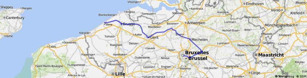 Girolibero: Tour delle Fiandre