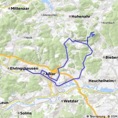 Dünsberg über Walgirmes