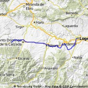 BT 36 Logrono - Redecilla del Camino