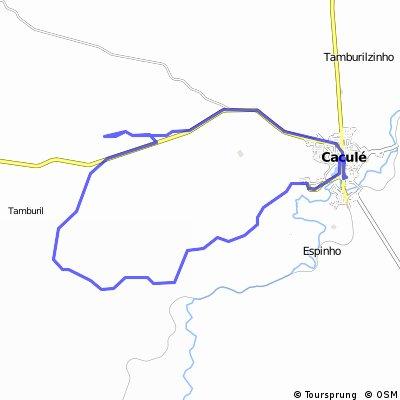 35 km Passando por Truvisco, Comocoxico, Barreiro