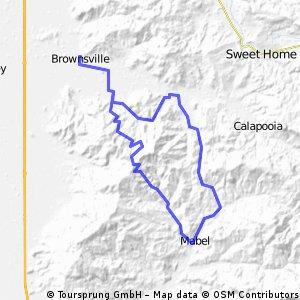 Brownsville Shotgun Creek Loop