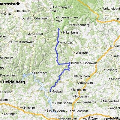 Großheubach nach Mosbach