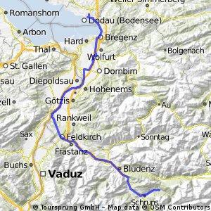 Lindau--> Silbertal