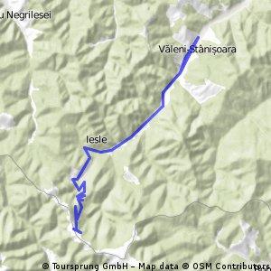 Drumul Talienilor - panta nord