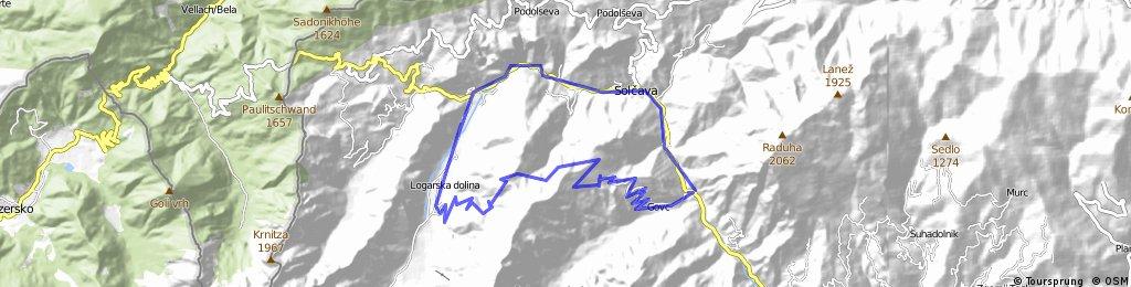 Robanov kot-Icmankova planin-Logarska dolina