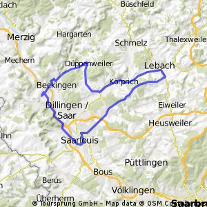 Trainingsrunde 50km