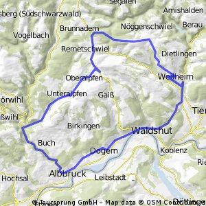 Tour 017 - LM-U-alpfen-Weilheim