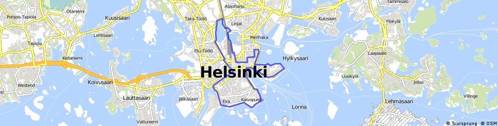 Kaupunkireitti - Helsinki (Cityroute)