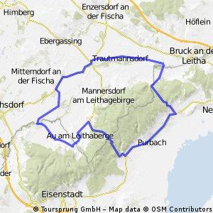 Reisenberg - Leithagebirge