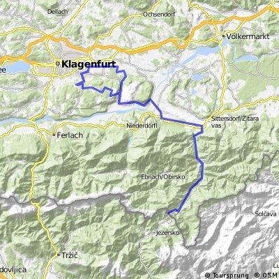 Tour nach Slowenien über Seebergsattel