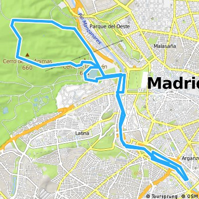 Manzanares - Casa de Campo - Manzanares