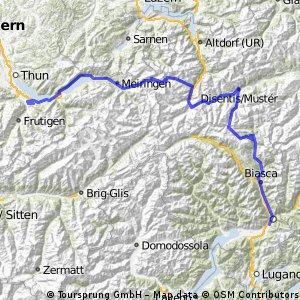 2.Tag Bellinzona-Aeschi