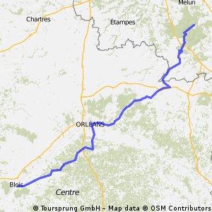Blois - Fontainebleau