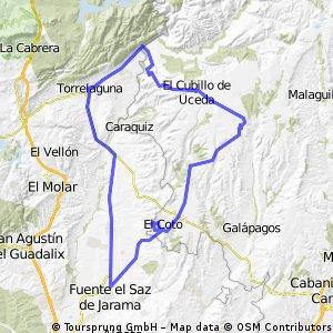 El Casar-Torrelaguna-Uceda- El Casar